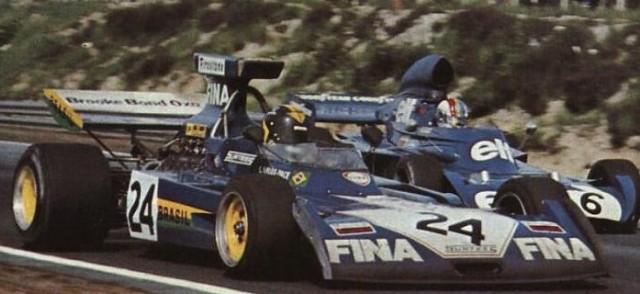 Carlos Pace conquistou o pódio da Surtees, na Áustria